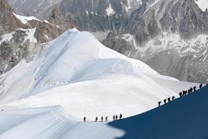 montanha dos Alpes no verão
