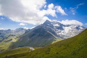 großglockner no parque nacional Hohe Tauern