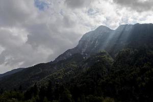 julische alpen, italien foto