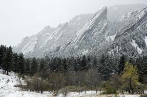 Boulder Colorado Flatirons foto