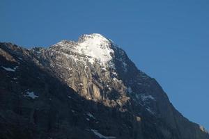 Eiger no verão