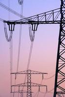 postes de eletricidade