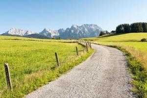 caminho alpino