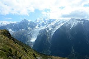 vista do mont blanc