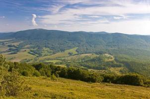 polonina wetlinska. montanhas bieszczady.