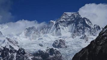 Hungchhi, alta montanha na região do Everest foto