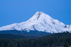 Mount Hood Blue Morning