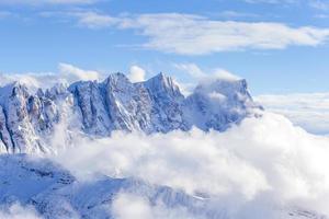 vista em uma montanha