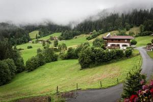 Kitzbühel na região do Tirol