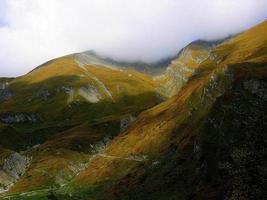 berglandschaft, hohe tauern, österreich foto