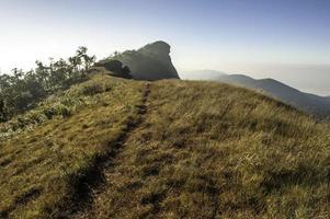 montanha mon-jong, chiangmai, tailândia foto