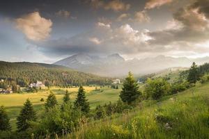 montanhas no parque nacional