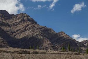 montanhas, ladakh, índia