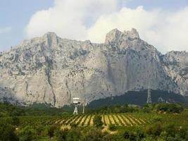 montanhas ai-petri, península da criméia, ucrânia