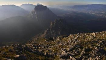 montanhas do parque natural urkiola