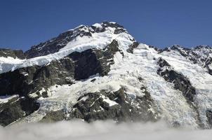 opinião do Monte Sefton, Nova Zelândia.