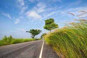 estrada em chiang rai, tailândia
