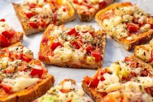 deliciosos sanduíches vegetarianos