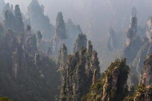 parque florestal geológico nacional de zhangjiajie