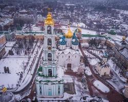 catedral durante o inverno foto