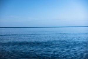 oceano azul foto