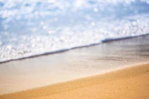 água limpa do oceano