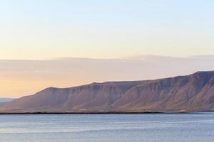 a costa sul da Islândia foto