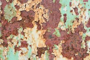 superfície pintada velha