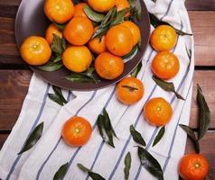 monte de tangerinas