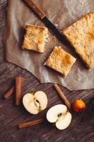 bolo de maçã foto