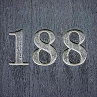 número da residência 188