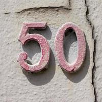 número da casa 50 foto