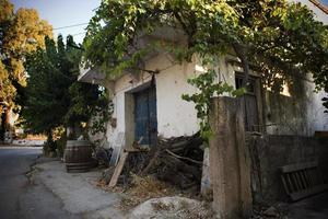 velha casa de creta foto