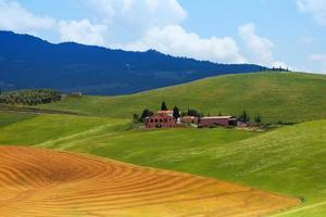 pequenas casas na toscana itália