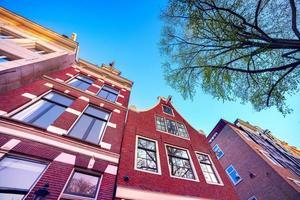 elementos da autêntica arquitetura holandesa foto