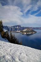 parque nacional do lago crater foto