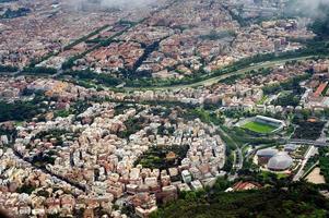 fotografia aérea de roma
