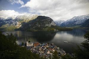 vista sobre Hallstatt