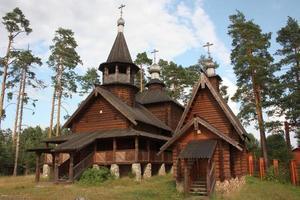 igreja de madeira foto