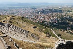 o teatro helenístico em pergamon foto