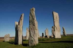 pedras em pé de callanish
