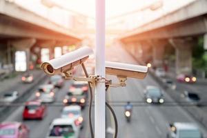 câmera de segurança de trânsito