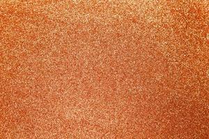fundo de textura brilhante de glitter laranja