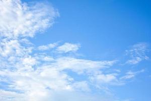 fundo azul do céu e nuvens