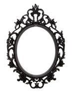 Cadre Noir Ovale