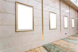 porta-retratos vazios