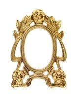 moldura de ouro dourado