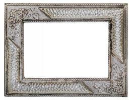 porta-retrato vintage prateado
