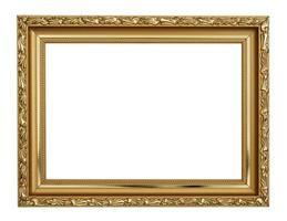 moldura de ouro