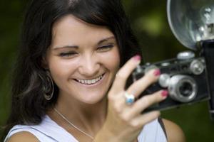 sorriso de fotógrafo foto